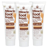 Miracle Foot Repair Cream 32 ounce pump bottle with 60% UltraAloe | For Dry, Cracked, Itchy feet | Fast-Acting | Super-Moisturizing | Helps Athlete's Foot | Have Soft, Baby Feet Once More