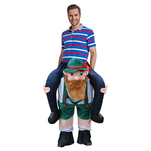 Cosplay Costume Shoulder Ride On Mascot Dress