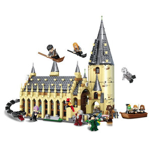 Brick Building Toys Castle Hall Set