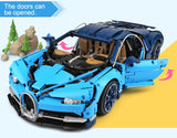 Brick Building Toys Bugattis Chiron Car Model