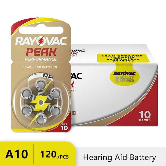 Air Hearing Aid Royavac Battery Peak Zinc