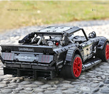 Brick Building Toys Technic Car 1965 Fords Mustang Hoonicorn Car Model