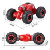 RC Toys Controller Double Sided Stunt Twist Desert Cars Model