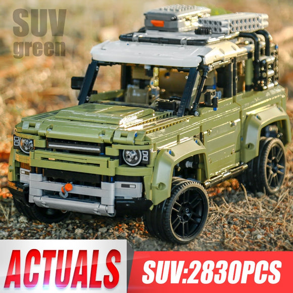 Brick Building Toys Technic Land Rover Car Defender Set