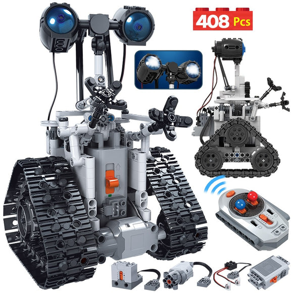 Brick Building Toys  City Creative RC Robot Electric 408Pcs Set
