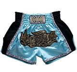 FLUORY Muay Thai Fight Shorts,MMA Shorts Clothing Training Cage Fighting Grappling Martial Arts Kickboxing Shorts Clothing