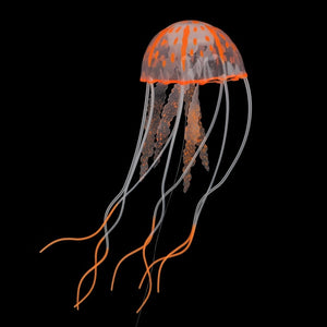 Silicone Simulated Aquarium Decor Jellyfish