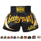 Top King Boxing Muay Thai Shorts Normal or Retro Style Size S, M, L, XL, 3L, 4L