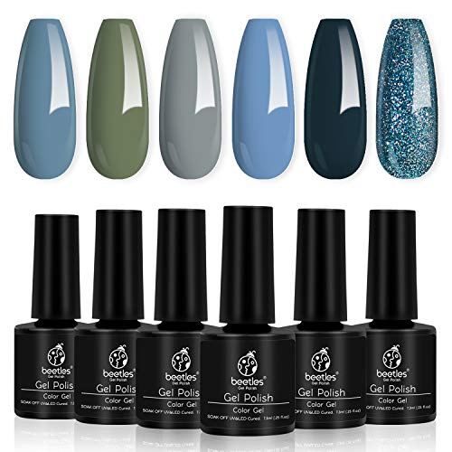 Fall Nail Colors Gel Polish Set Manicure Set