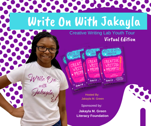 Creative Writing for kids with Jakayla M. Green