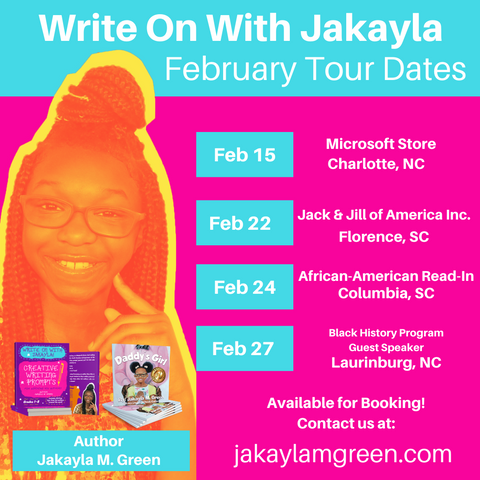Jakayla M. Green how to write a children's book
