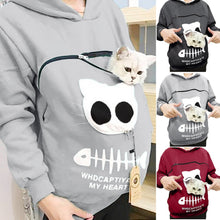 Load image into Gallery viewer, Cat Lovers Hoodie Pet Lovers