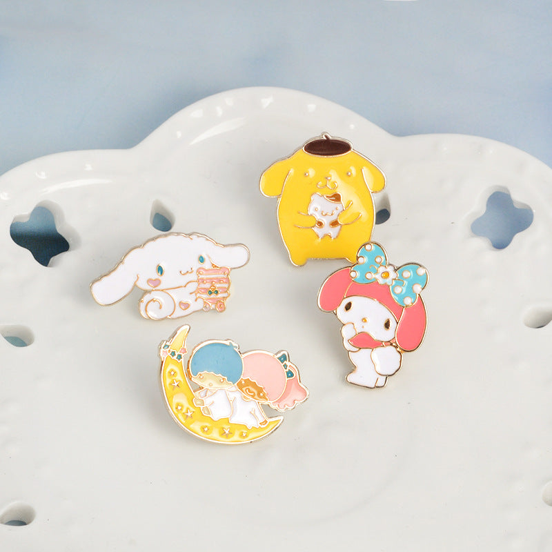 Cartoon Brooch Cute Pins for Boys Girls