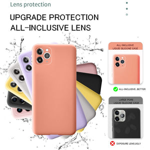 Protection Soft Cover For iPhone