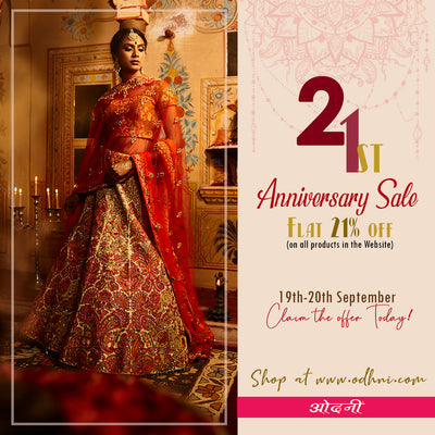 flat 21% off on 19th-20th sep