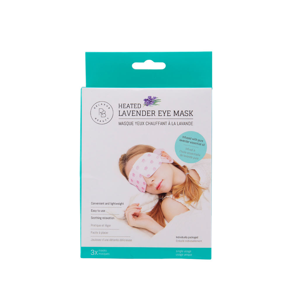 Heated Lavender Eye Mask