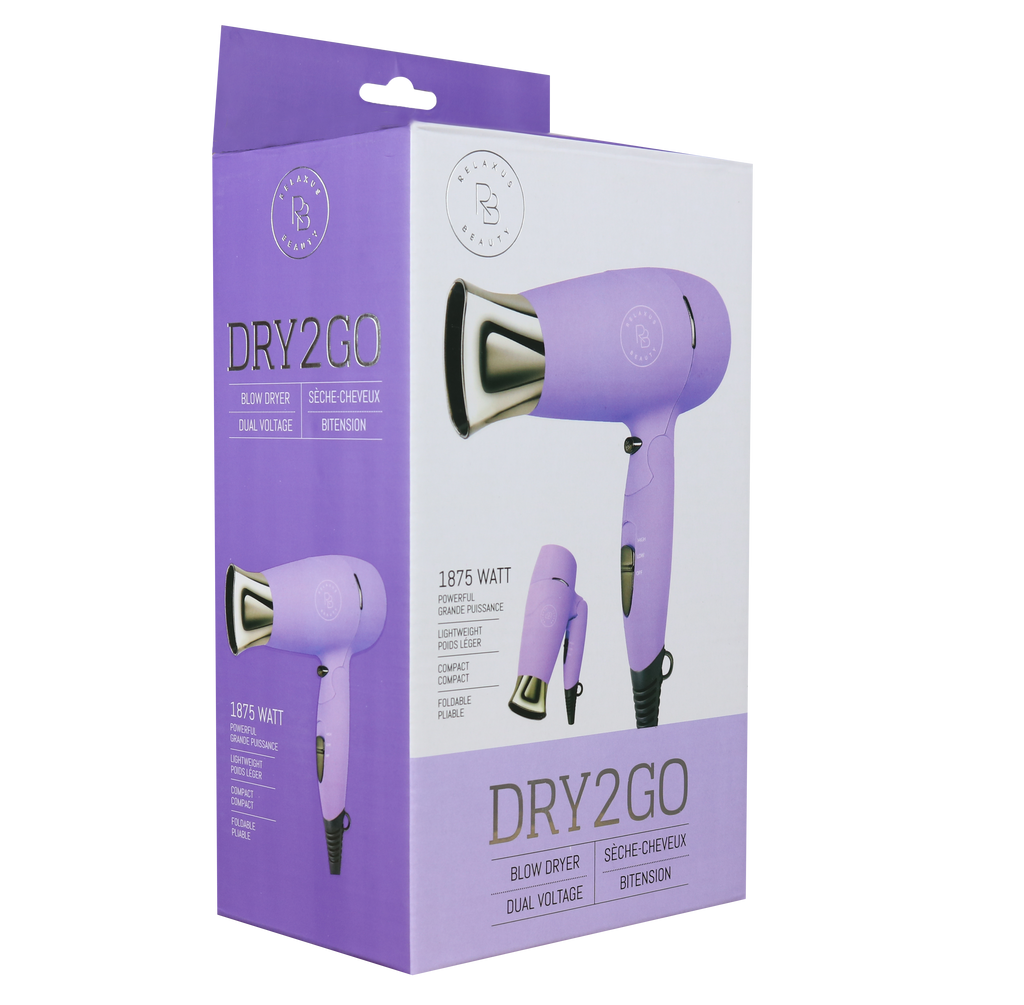 Ultra Violet Dry2Go Travel Blow Dryer