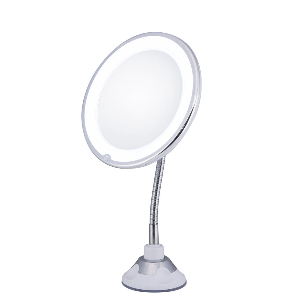 10x Magnifying Mirror with LED light
