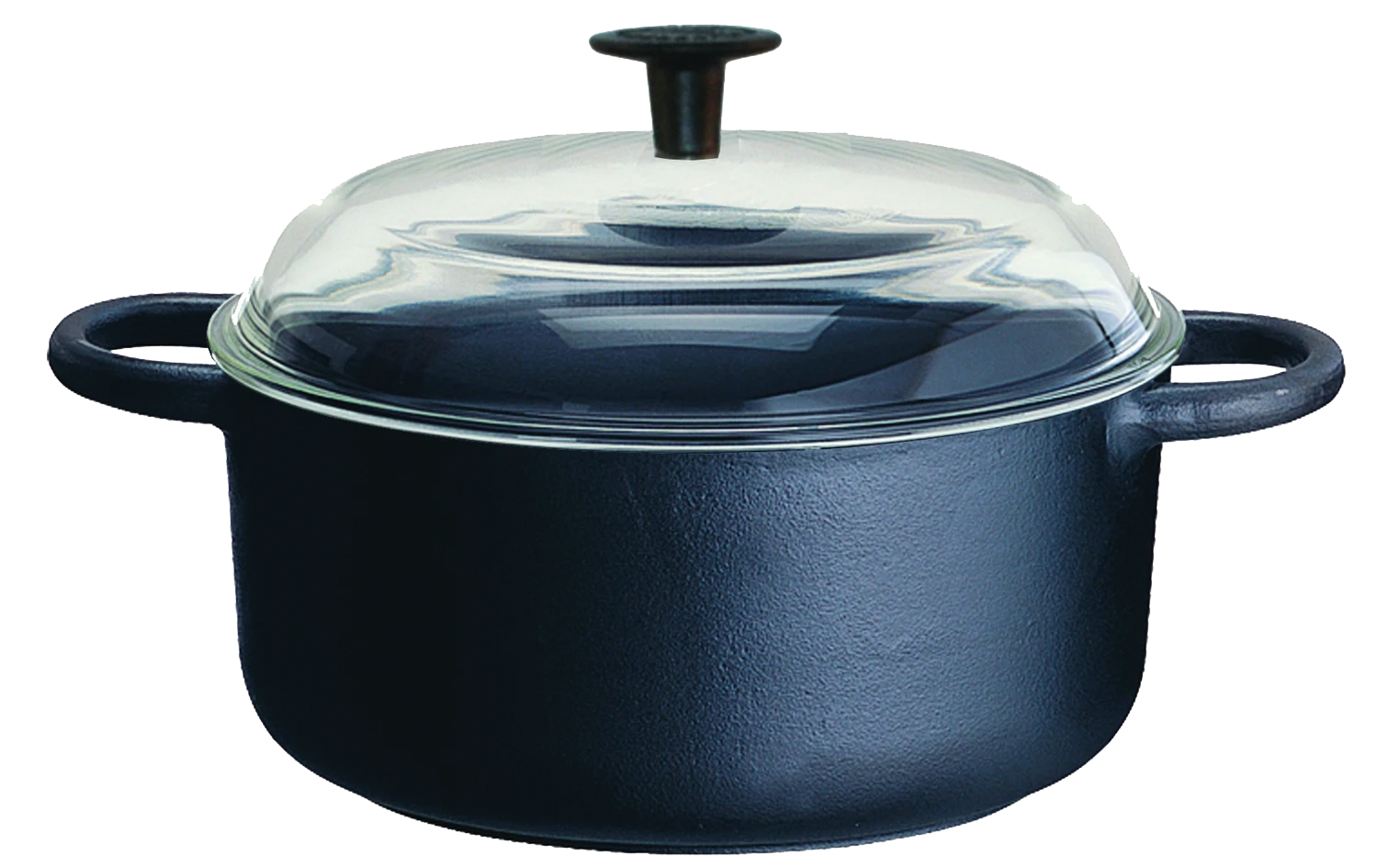 Maestro Cast Iron Casserole with Glass Lid (2 sizes)