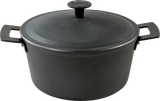 Ultra-Light Professional Cast Iron Casserole with Cast Iron Lid- 2 Sizes