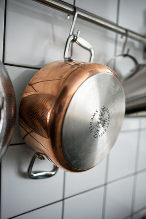 "Maestro Copper Sauté pan (10 1/4"" diameter)"