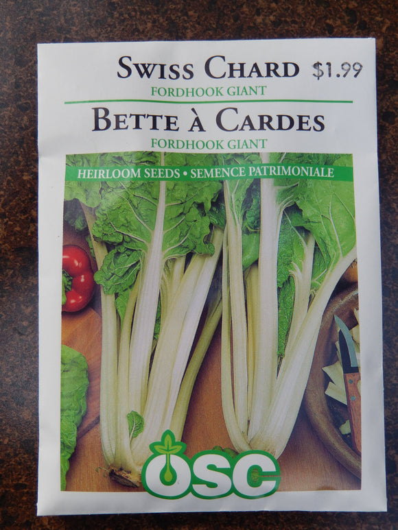 Swiss Chard Fordhook Giant