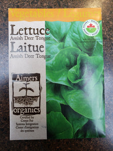 Lettuce Amish Deer Tongue