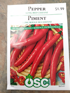 Pepper Long Red Cayenne