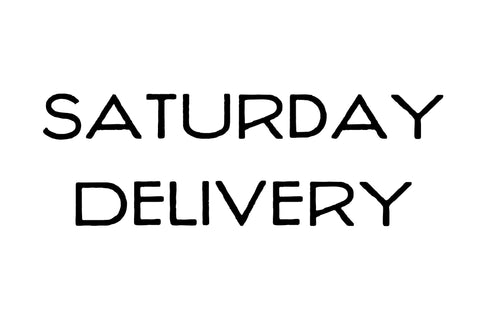 Saturday Delivery Surcharge