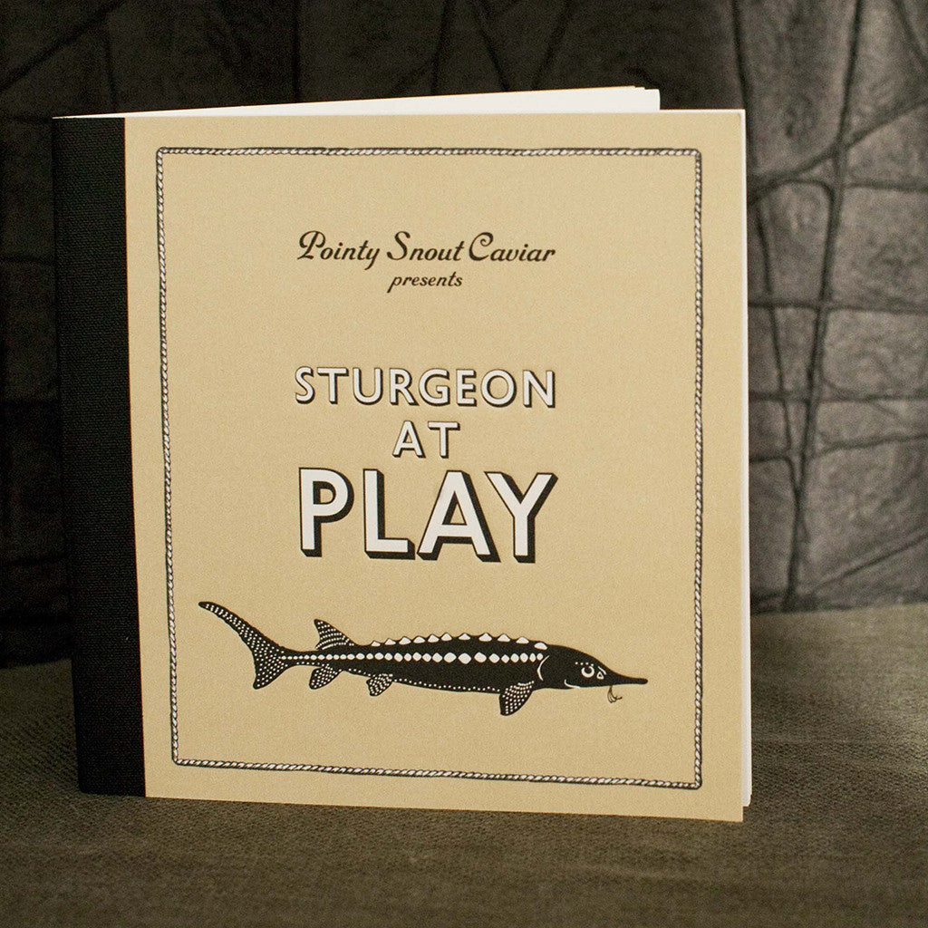 Sturgeon at Play - Limited Edition Booklet