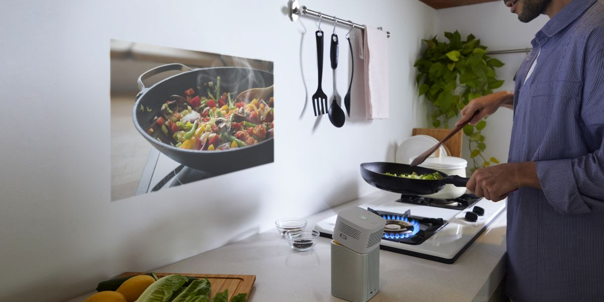 Cooking Home Projector
