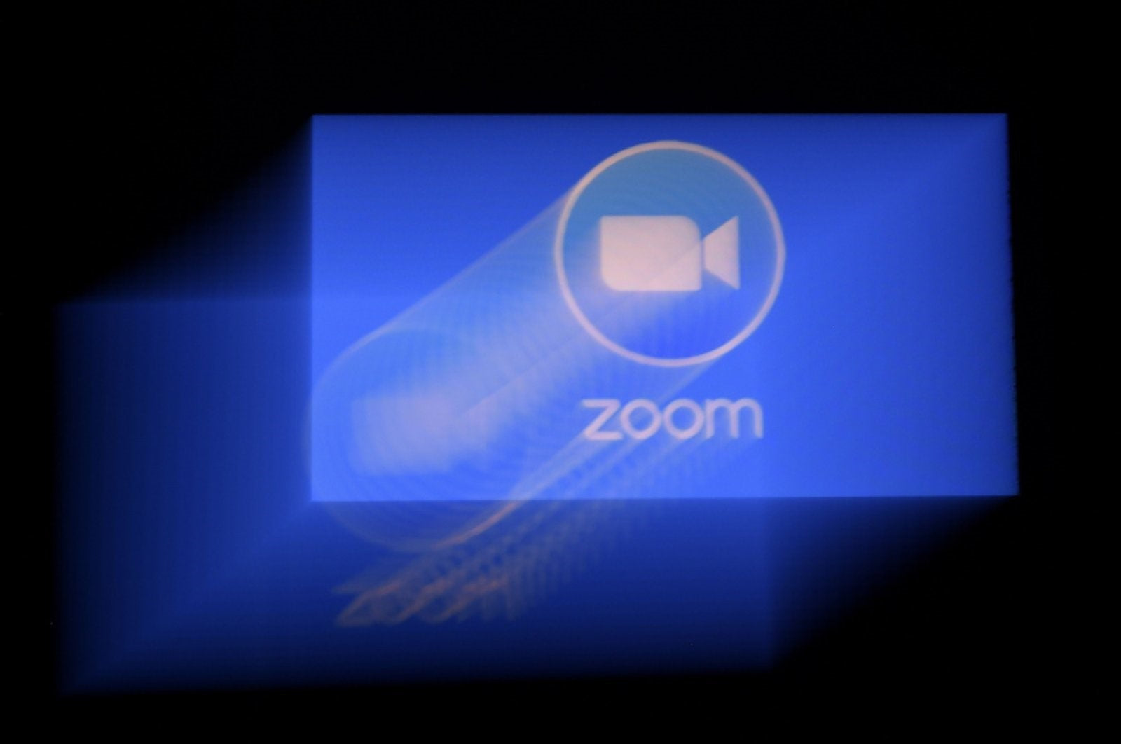 ZOOM with Home Projector