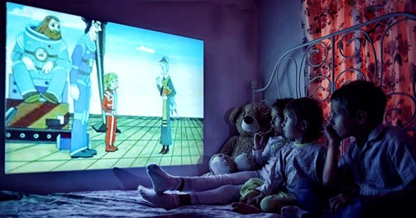 Bedtime Stories with Home Projector