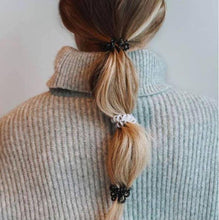 Load image into Gallery viewer, Granite Grey SpiraBobble | Spiral Hair Bobbles & Hair Ties