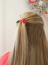 Load image into Gallery viewer, Red SpiraBobble | Spiral Hair Bobbles & Hair Ties