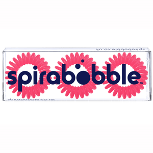 Candy Pink SpiraBobble | Spiral Hair Bobbles & Hair Ties