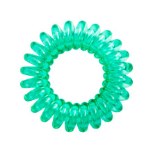 Load image into Gallery viewer, Clearly Green SpiraBobbles | Hair Bobbles | Pack of 3