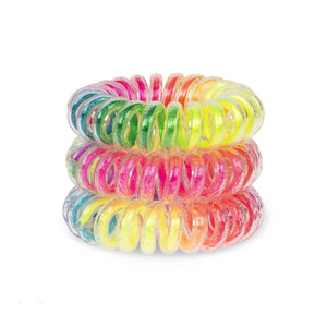 Rainbow Coloured SpiraBobble | Hair Bobble & Hair Tie