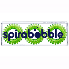 Load image into Gallery viewer, Lime Time SpiraBobble | Spiral Hair Bobbles & Hair Ties