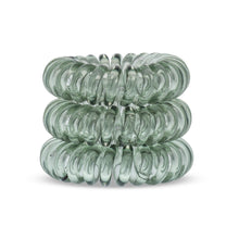 Load image into Gallery viewer, Mountain Moss Green SpiraBobble | Spiral Hair Bobbles & Hair Ties