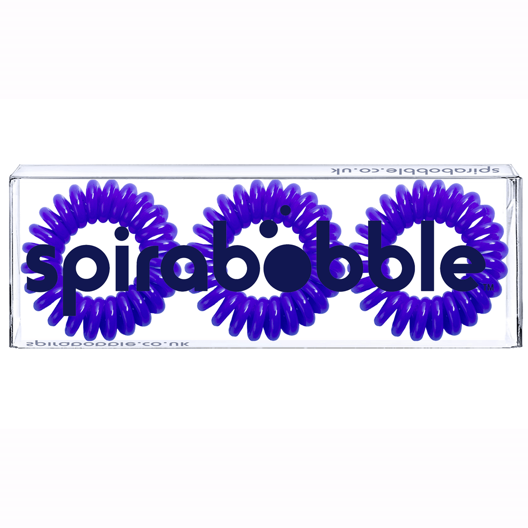 Deep Purple SpiraBobble | Spiral Hair Bobbles & Hair Ties