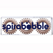 Load image into Gallery viewer, Terrific Toffee SpiraBobble | Spiral Hair Bobbles & Hair Ties