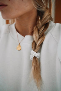 Violet Cream SpiraBobble | Spiral Hair Bobbles & Hair Ties