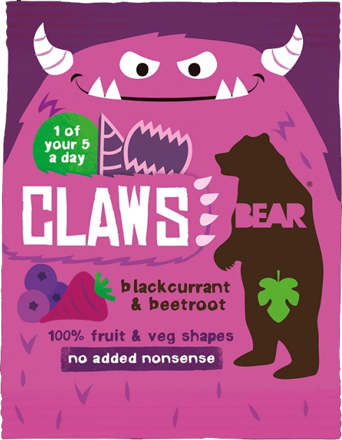 BEAR - Claws Zwarte Bes & Rode Biet