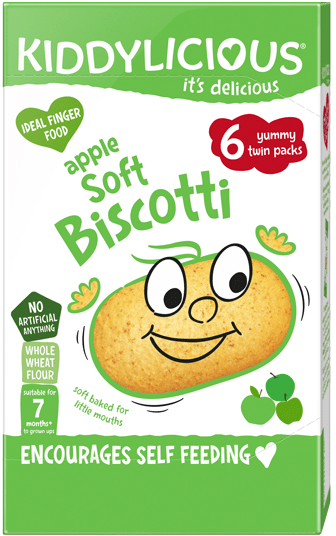 Kiddylicious - Appel Soft Biscotti