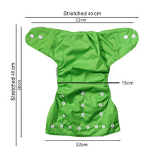 Load image into Gallery viewer, Washable Baby Cloth Diaper