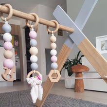 Load image into Gallery viewer, Nordic Wooden Playgym (with accessories)