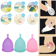 Load image into Gallery viewer, Silicone Menstrual Cup