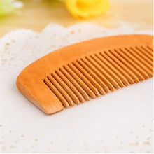 Load image into Gallery viewer, Natural Peach Wood Comb
