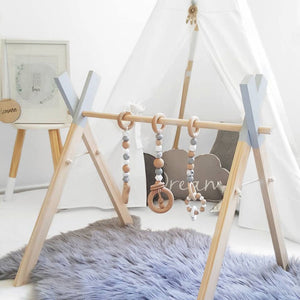 Nordic Wooden Playgym (with accessories)
